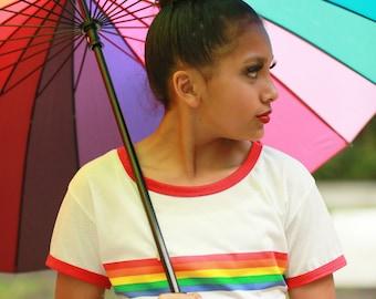 Rainbow Brite Top