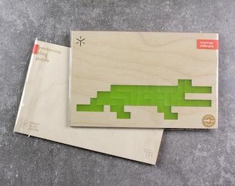 Crocodile Pentomino Puzzle
