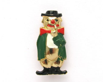 Clown, Soviet Badge,  Vintage collectible badge, Circus, Pin, Russian, Soviet Union, Made in USSR, 1980s
