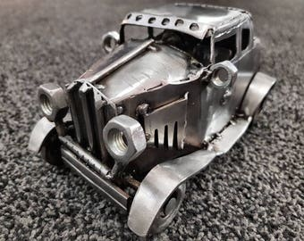 Ford 1932 Model A handcrafted metal art