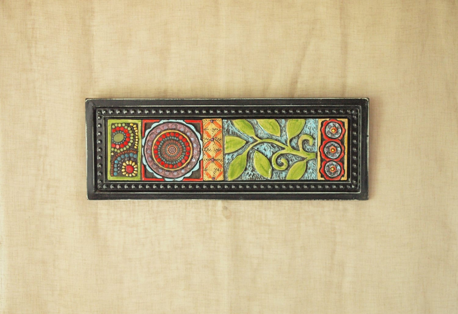 Mosaic Wall Art Vertical or Art Horizontal Art Suzani