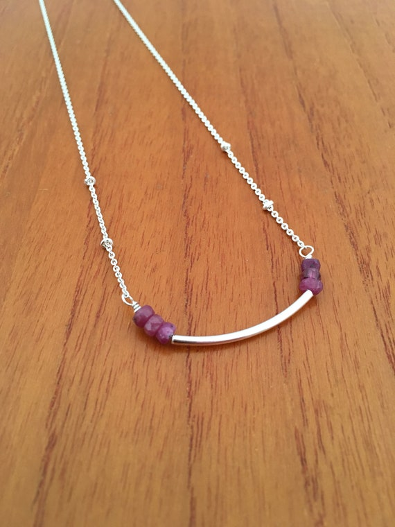 S - 599 Ruby necklace