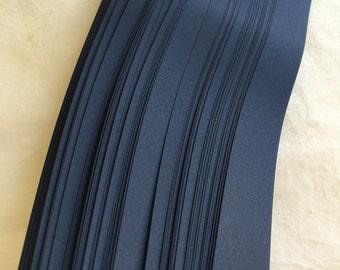 Clearance* Dark Navy~ Weaving Moravian German Froebel Star Paper (52 strips)