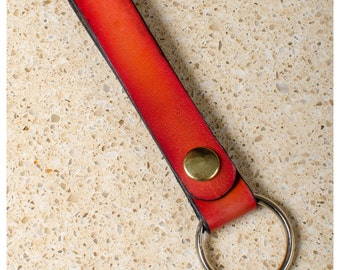 Cherry sunburst snap style key fob