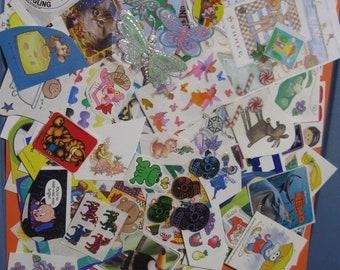 big miscellaneous sticker lot 144 pieces!! Lot C