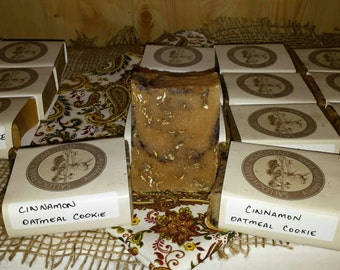 CINNAMON OATMEAL COOKIE Goat milk soap
