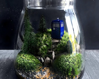 Doctor Who Tardis Terrarium Gift Set