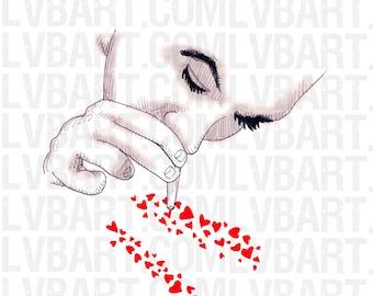 Love Addict Fine Art Print