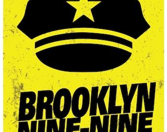 Brooklyn Nine-Nine Minimalist Poster