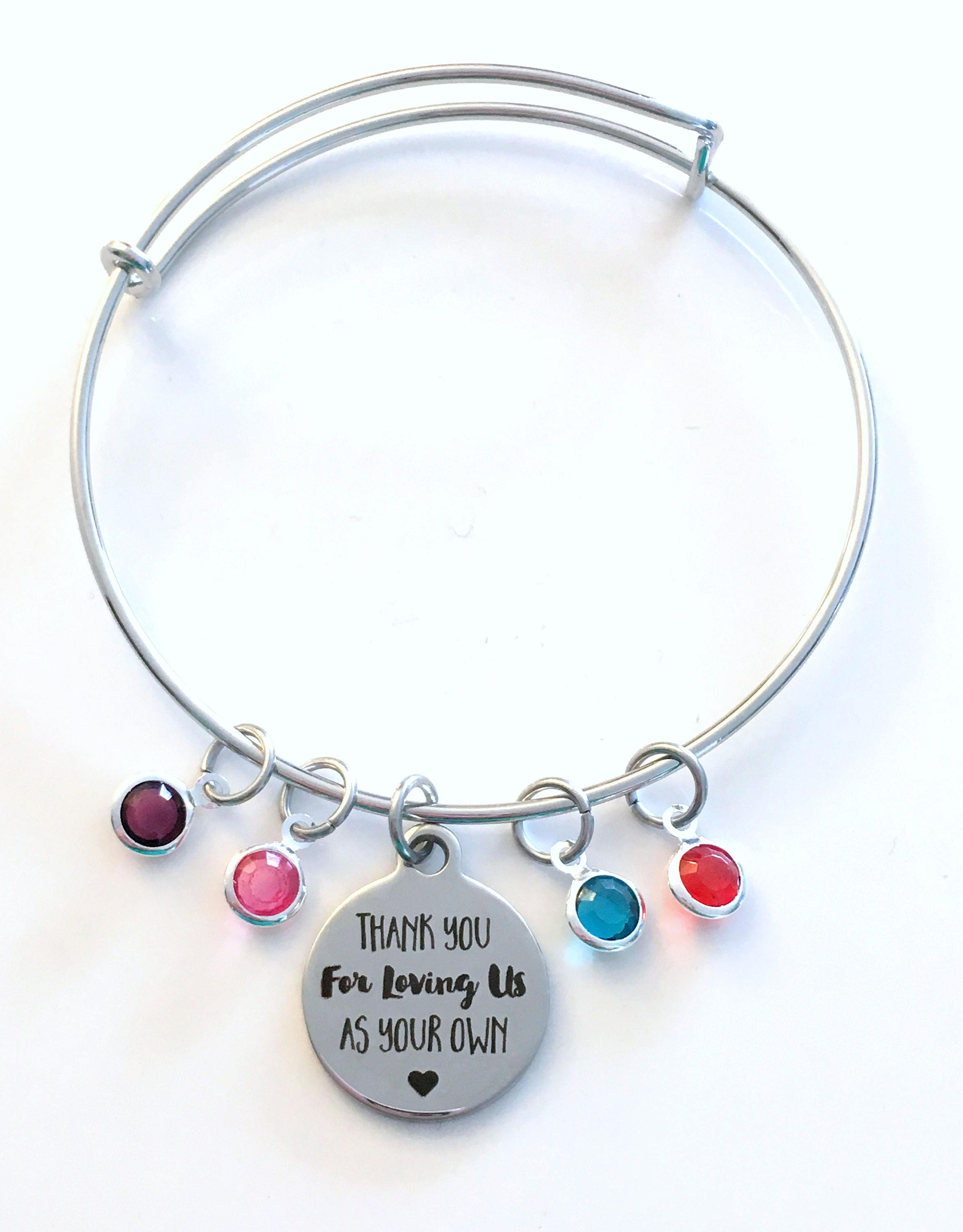 dna requires parenthood love mother jewelry gifts stepmom pin bracelet not mom step silver