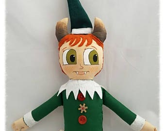 Kevin the Ginger Krampus Elf