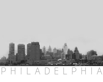 Philadelphia Skyline - Pencil art philly  - Philadelphia Photo - Luxury Art - Wall Decor - Philadelphia Photography - Philadelphia Art