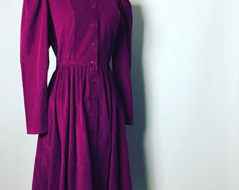 Vintage JORDACHE Corduroy Dress