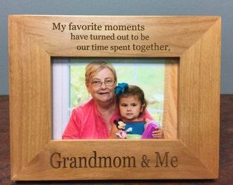 Grandmom Frame, Grandmom gift, best Grandmom gift