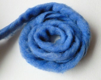Wool Roving, Cornflower Heather by Bartlett yarns