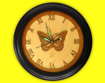 Exclusive wooden clock - Limited Edition