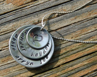 Mother's or Grandmother's Necklace (family necklace)