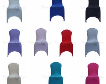 Chair Covers Spandex Lycra Wedding Banquet Anniversary Party Decor Reception