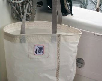 Upcycled Sailcloth Tote