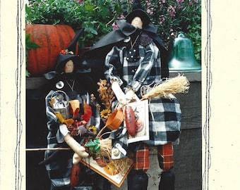 Fey Enterprises - Prunella - Halloween Witch Folk Pattern