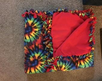 Twin Size Tie Blanket