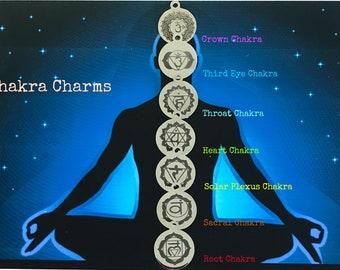 Add A Chakra Charm To Your Bracelet!