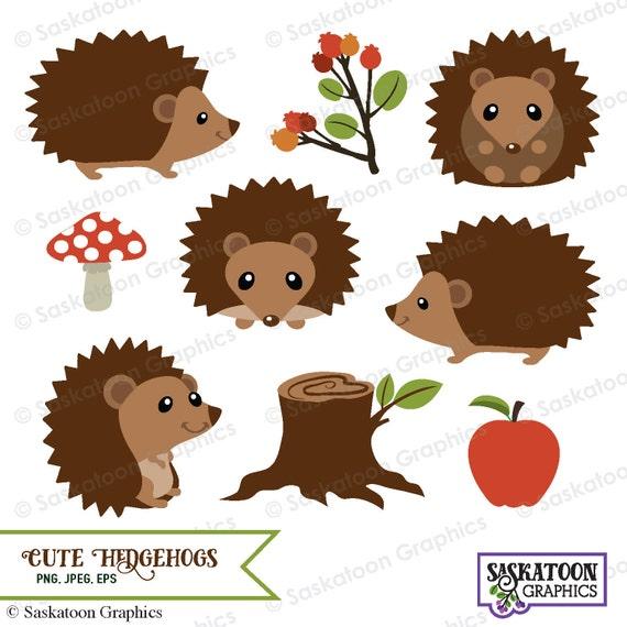 cute woodland hedgehog clipart instant download file digital rh etsystudio com hedgehog clipart black and white hedgehog clipart cute