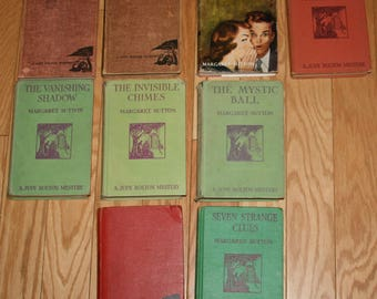 Lots of Judy Bolton Mysteries Vintage Books by Margaret Sutton, Donna Parker by Marcia Martin to Choose From