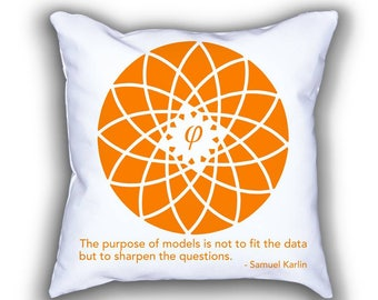 Karlin and Fibonacci Flower pillows