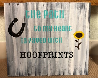 The path to my heart is paved with hoofprints