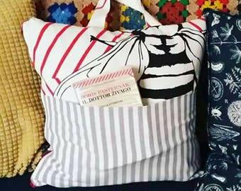 Handmade pillow bag-handmade Pillow bag