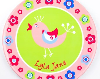 Personalised Bird Plate