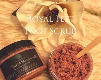 Royal Feet foot scrub