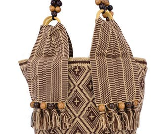 "Crochet Shoulder Bag | Purse ""CANASTA CHEO"""