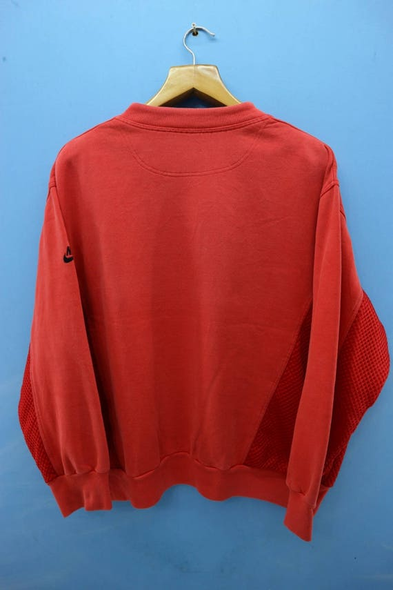 Vintage Big Sport Hip Basketball Jordan Flight Air Sweatshirt NBA Logo Nike Hop ZrpqrnI