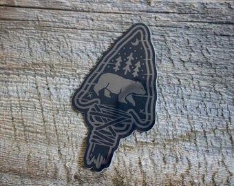 Foil Sticker - The Great Black Bear