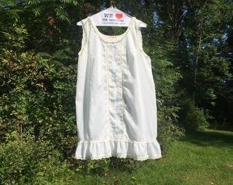 Vintage Sears Lace and Ruffles Nightie