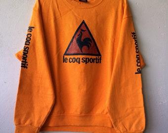 Le coq sportif big logo spellout sweatshirt jumper pullover
