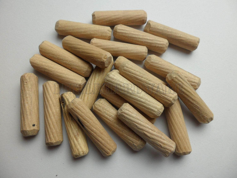 🔎zoom - 100pcs 30mmX8mm Repair Parts Carpenter Furniture Wooden Dowels