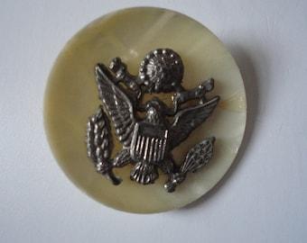 Vintage World War II Uniform Button