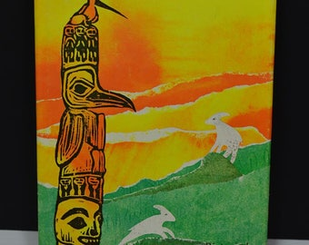 The Mountain Goats of Temlaham by Toye, William 1969