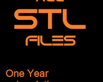ALL STLs 1 YEAR SUBSCRIPTION