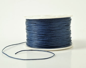 waxed cord 1mm jewlery cord handcrafts cord