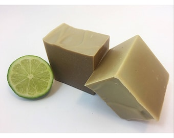 Patchouli + Lime Soap, French Green Clay Soap, Honey Soap, Bar Soap, Natural Soap