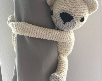 Polar Bear Curtain Tie / Pattern