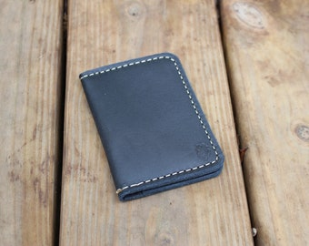 The Bison Leather Bifold, Bifold Wallet, Mens Slim Bifold Wallet, Mens Wallets, Mens Leather Wallet, Slim Bifold Wallet