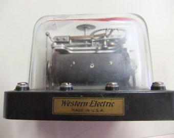 Vintage Western Electric Railroad Communication Switch - WE RR
