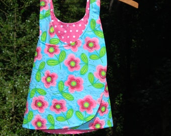 Reversible Summer Dress 18 - 24 Months - READY TO SHIP