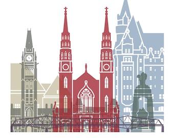 Ottawa Cityscape Art Print