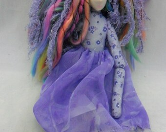 Mini cloth rag doll Lizzy pdf